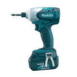MAKITA Cordless Li-Ion Impact Driver with LED [BTD140RFE] - Bor Mesin